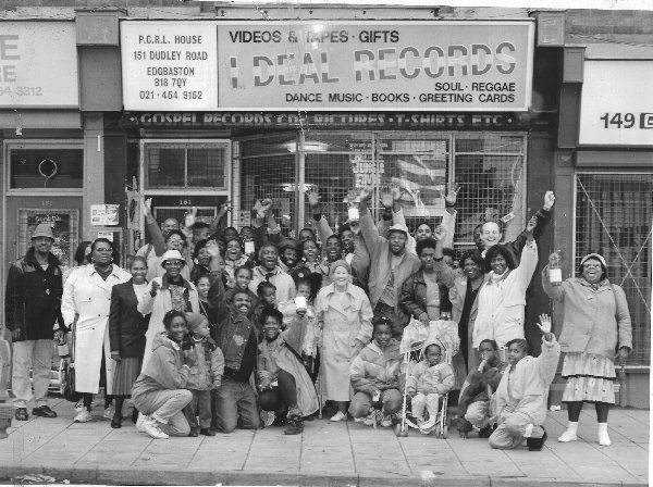 pcrl fundraisers & ideal record shop 1992