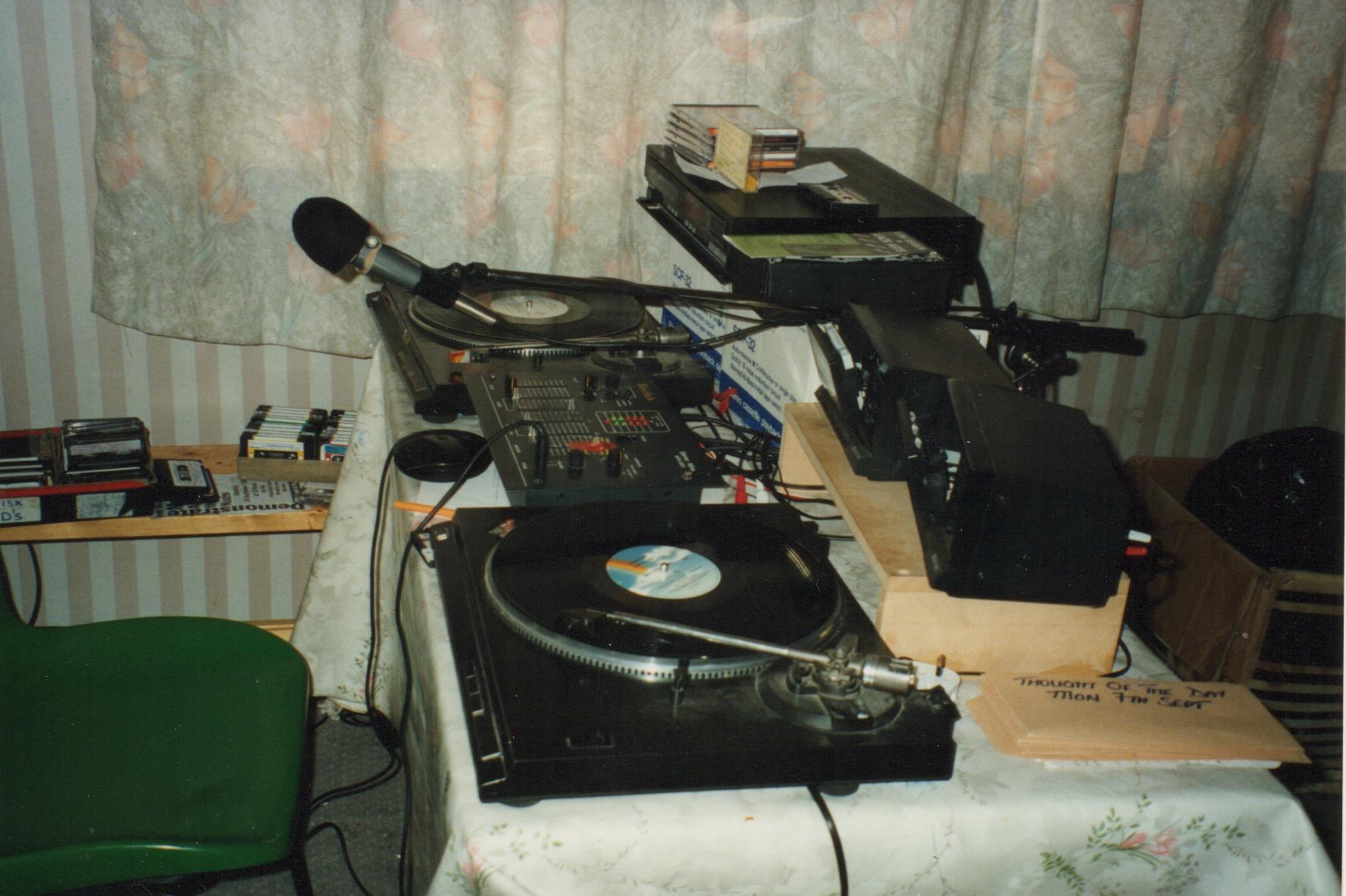 PCRL Studio September 1992