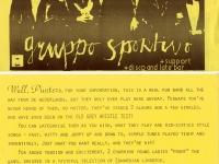 Gruppo Sportivo leaflet Feb 79
