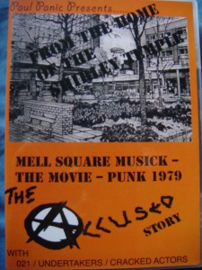 Cover of new film of 4 punk bands from '79