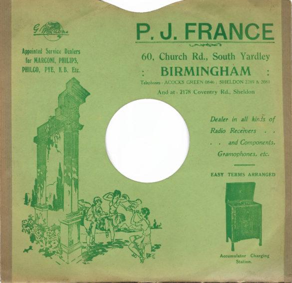 Percival Jason France 1933