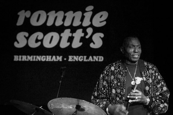 Elvin Jones by Christian Payne © http://documentally.com
